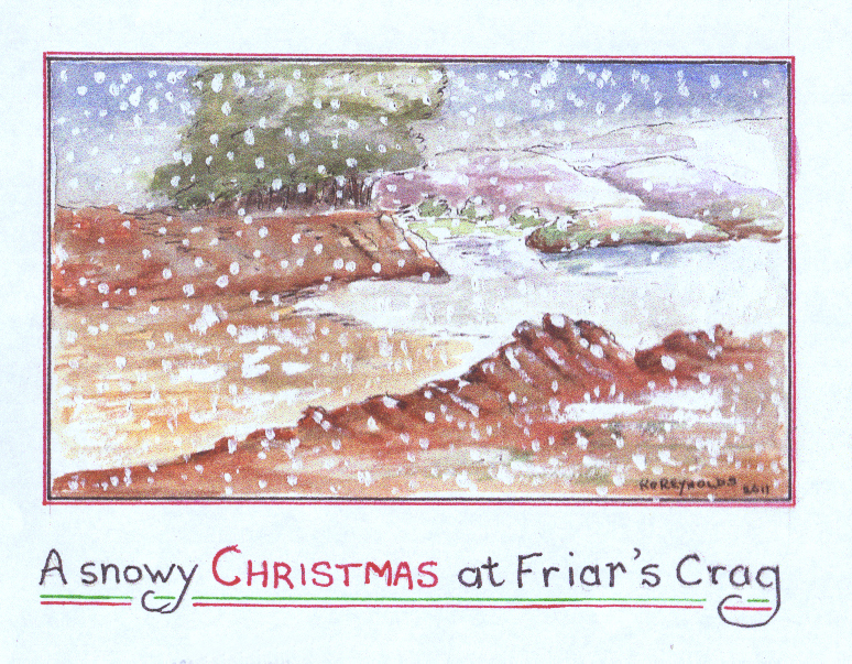 Friars Crag Christmas card 2