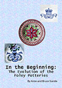 Ine the beginning the Evolution of the Foley Potteries book cover