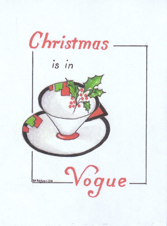 Vogue Christmas card