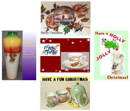 Shelley Christmas Cards - various items
