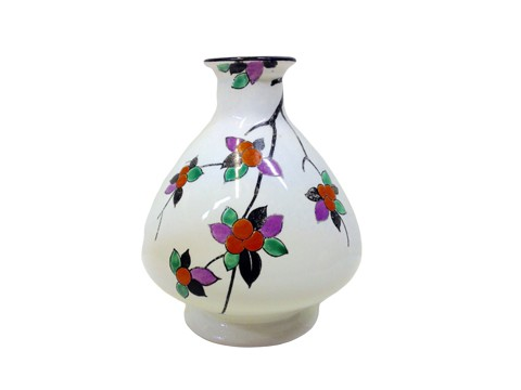 stylised fruit vase